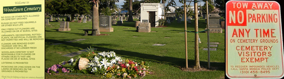 Woodlawn Cemetery - Santa Monica